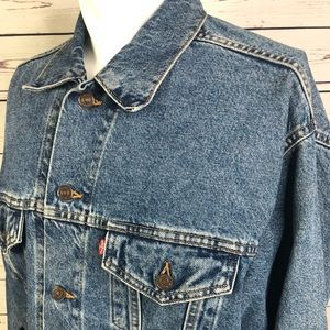 Levi's denim trucker jacket size L